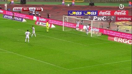 Hazard, drugi gol Belgije
