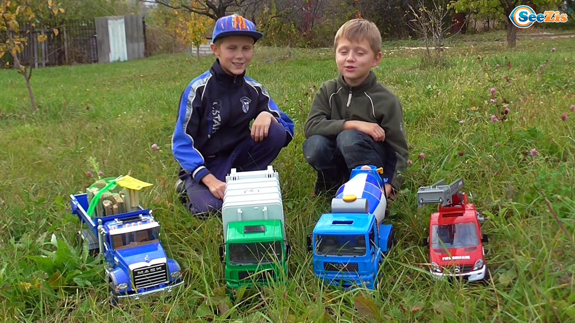 BRUDER CARS БРУДЕР МАШИНКИ Пикник на природе с Игорьком Игры с Машинками и Развлечения для детей