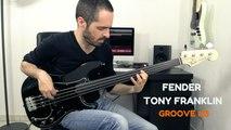 FENDER TONY FRANKLIN FRETLESS - Groove #3 /// Bruno Tauzin