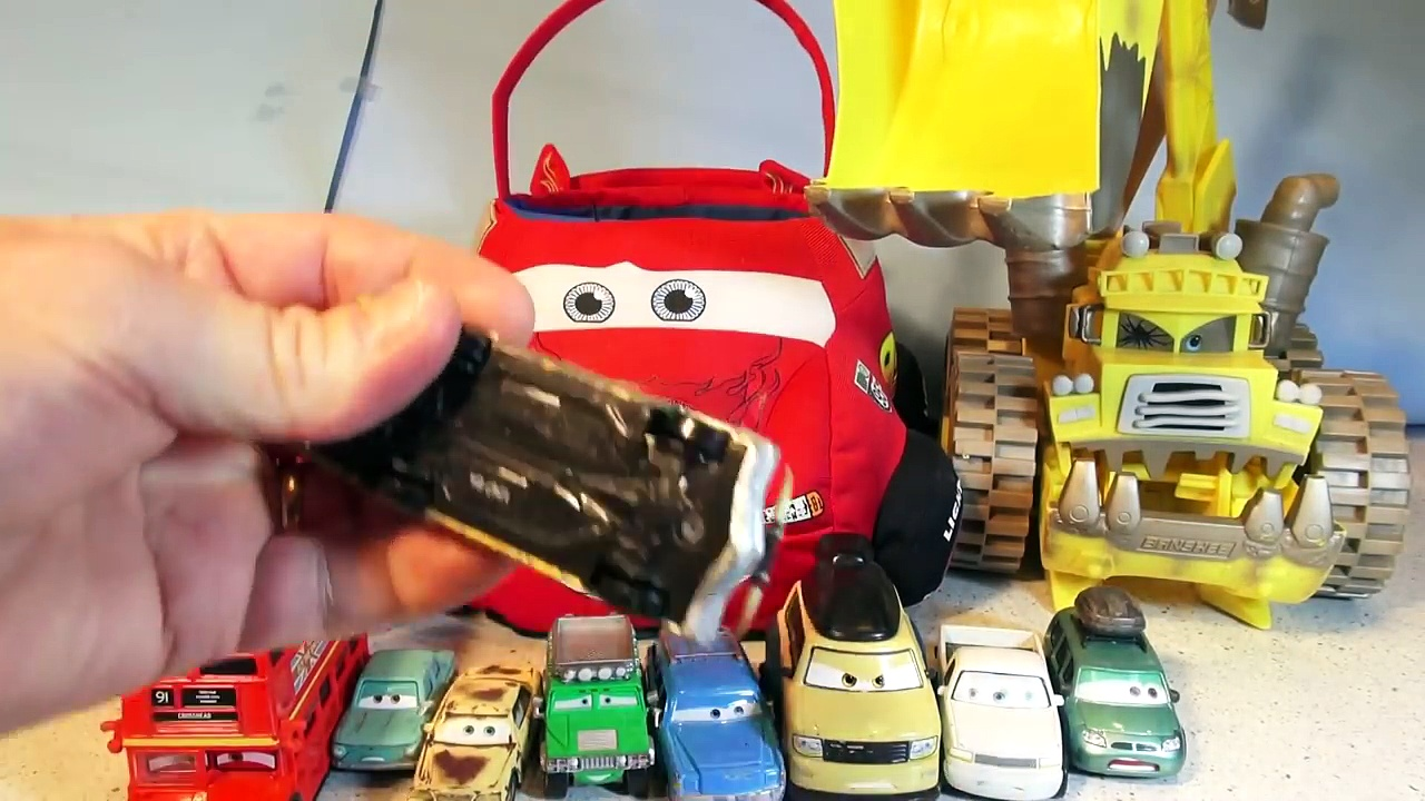 Disney Pixar Cars Lightning McQueen Counting Cars from Cars and Cars 2