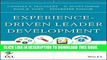 Collection Book Experience-Driven Leader Development: Models, Tools, Best Practices, and Advice