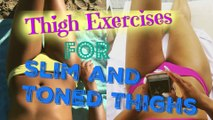Best Leg Exercises To Lose Thigh Fat Fast  How to Get Slim and Toned Legs Fast