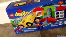 LEGO DUPLO Superheroes Batman Vs. Superman Joker Challenge & Superman Rescue Blocks