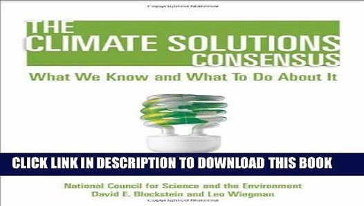 The climate solutions consensus