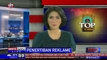 Dishub DKI Tertibkan Reklame Liar di JPO