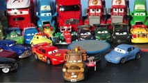Pixar Cars Lightning McQueen introducing Waiter Mater, a new Mater for our collection of Maters