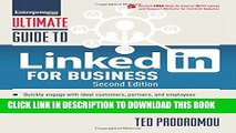 New Book Ultimate Guide to LinkedIn for Business (Ultimate Series)