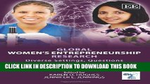 New Book Global Women s Entrepreneurship Research: Diverse Settings, Questions and Approaches