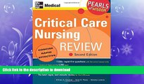 GET PDF  Critical Care Nursing Review: Pearls of Wisdom, Second Edition  BOOK ONLINE