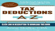 New Book Tax Deductions A to Z for Artists (Tax Deductions A to Z series)
