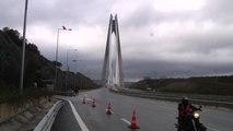 Motor Tutkunları Yavuz Sultan Selim Köprüsü'nden Geçti - İstanbul