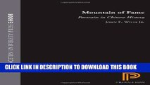 [PDF] Mountain of Fame: Portraits in Chinese History Full Online[PDF] Mountain of Fame: Portraits