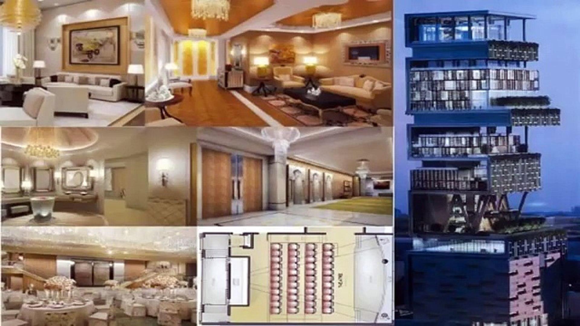 Mukesh Ambani New House Inside View Video Mukesh Ambani House In Mumbai Video Dailymotion