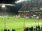 ASSE VALENCIENNES 2007 fin du match, vue kop nord, Feidouno