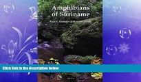 Popular Book Amphibians of Suriname (Fauna of Suriname)