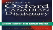 PDF] Paperback Oxford Canadian Dictionary Full Online