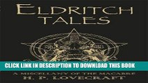 Collection Book Eldritch Tales