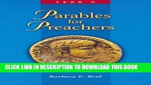New Book Parables for Preachers: The Gospel of Luke, Year C