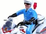 Police motos jouets pour les enfants
