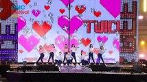 161008 BTS MBC DMC Festival 2016 Korean Music Wave ( Run + Sorry Sorry ft. Lee Teuk, TWICE, Gfriend)
