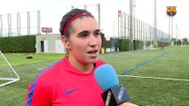FCB Femenino: Xavi Llorens previa FC Barcelona – Zaragoza [ESP]