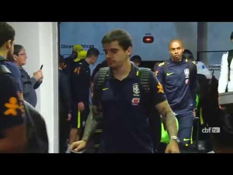Seleção Brasileira já está em Mérida, na Venezuela