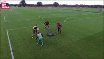 L'entraînement déjanté des gardiens de Norwich