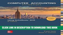New Book Computer Accounting Essentials Using QuickBooks 2015 QuickBooks Software