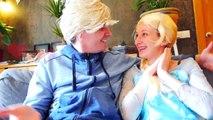Frozen vs Booger w/ Spiderman! Frozen Elsa is Sick in Real Life! Fun Superhero ft Disney Princesses