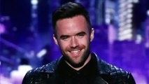Brian Justin Crum - Somebody to Love - Lyrics - America's Got Talent - Auditions - 2016