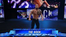WWE Dream Feuds: Shawn Michaels & The Rock confrontation! (WM Dream Match WWE 2K Custom Story)
