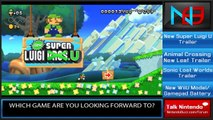 Nintendo News: Trailers - New Super Luigi U, AC: New Leaf, Sonic Lost World & New Wii U Battery