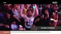 Coldplay en concert à Lyon