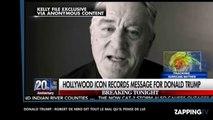 Elections américaines : Robert de Niro déclare vouloir donner un coup de poing dans la poire de Donald Trump (vidéo)