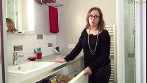 Idées déco et astuces petits espaces - Une petite salle de bain très fonctionnelle (bien organisée)
