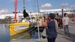 Le ponton du Vendée Globe, promenade du dimanche