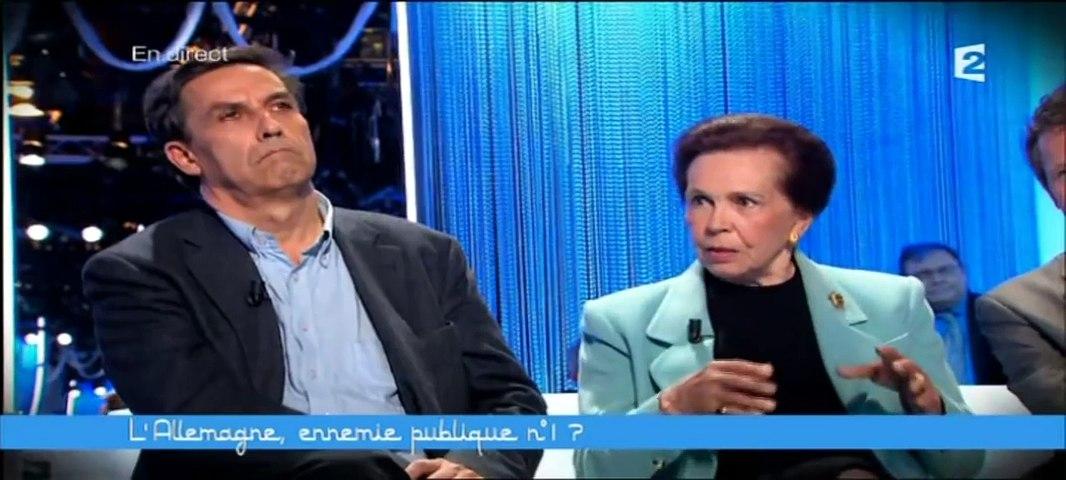 Marie France Garaud à propos de l'histoire de la construction européenne