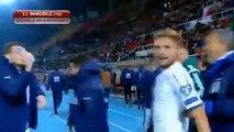 All Goals HD - Macedonia 2-3 Italy 09.10.2016 HD