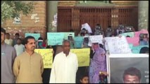 Quetta Protest by BSO-Azad Against the Abduction of Shabir Baloch by Pakistani Forces in Balochistan