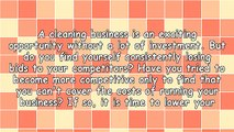 Cleaning Business Tips - Keep Costs Down To Improve Bids