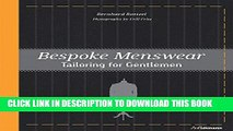 [PDF] Bespoke Menswear: Tailoring for Gentleman Popular Online