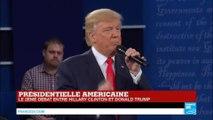 """Débat US - Donald Trump """"l'énergie est assiégée par l'administration Obama !"""""""