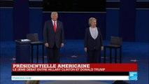 Présidentielles US : Revivez le deuxième débat Trump-Clinton en intégralité