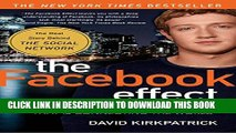 Collection Book The Facebook Effect: The Inside Story of the Company That Is Connecting the World