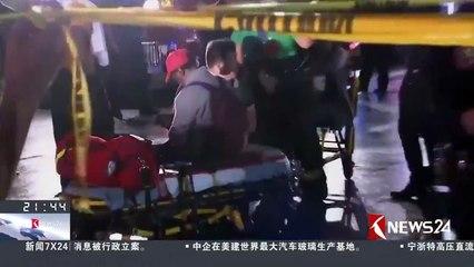 美国:纽约通勤列车撞货车 至少33人受伤
