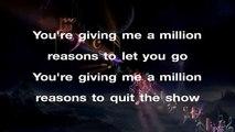 Lady Gaga - Million Reasons ¦ LOWER Key Karaoke Instrumental Lyrics
