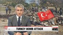 Suicide bomb attack by Kurdish militants kills 18 in Turkey: AP