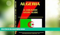 Big Deals  Algeria Country Study Guide (World Country Study Guide  Full Read Most Wanted