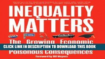 Collection Book Inequality Matters: The Growing Economic Divide in America and Its Poisonous