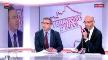 """Luc Chatel : """"Je ne comprends pas cette idée de vouloir prendre des électeurs de gauche quand on pas convaincu ceux de la droite"""""""